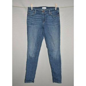 ANN TAYLOR LOFT Medium Wash Curvy Skinny Jean